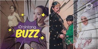 Foto Vickhy Shu dalam pemotretan maternity bikin pangling, cantik banget.