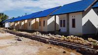 Foto pembangunan rumah bersubsidi. (Sumber foto: Kementerian PUPR)