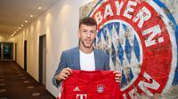 Ivan Perisic akan membela Bayern Munchen pada musim 2019-20. (dok. Bayern Munchen)