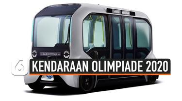 Tokyo mulai bersiap menyambut Olimpiade 2020. Kendaraan tanpa pengemudi disiapkan untuk warga dan mobilitas pengunjung yang akan datang ke olimpiade,