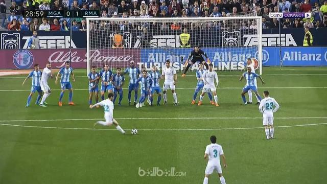 Berita video highlight La Liga 2017-2018, Malaga vs Real Madrid, dengan skor 1-2. This video presented by BallBall.