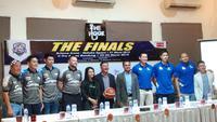 Jumpa pers jelang final IBL 2019. (Liputan6.com/Thomas)