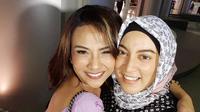 Jane Shalimar dan Vanessa Angel akhirnya saling memaafkan satu sama lain [foto: instagram/jshaz26]