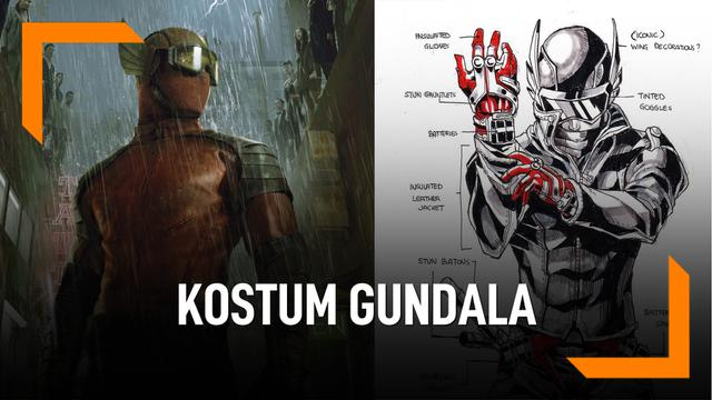 Melihat Kostum Gundala Dibuat di Tempat Kostum Marvel