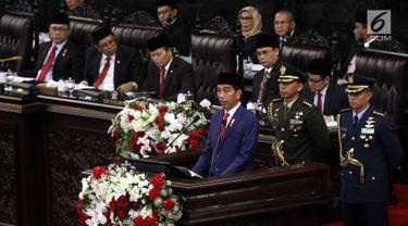 Pidato Presiden Jokowi Di Sidang Tahunan