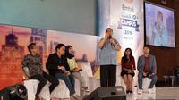 Para pemain PPT saat sharing di EGTC Bandung.