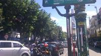 Jalan Malioboro di Yogyakarta masih menjadi salah satu tujuan wisatawan saat libur Lebaran (Liputan6.com/ Fathi Mahmud)