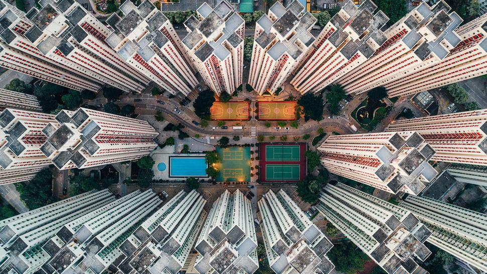 Bangunan tinggi di Hong Kong. (Doc: Andy Yeung/Andy Yeung Photography)