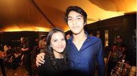Marsha Aruan hadiri ulang tahun sang kekasih, El Rumi [foto: instagram/aruanmarsha]