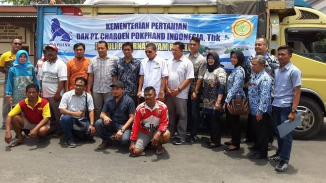 CPIN Gandengan Charoen Pokphand, Kementan Gelontorkan 50 Ton Jagung ke Blitar - Bisnis Liputan6.com