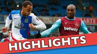 Video highlights Piala FA antara Blackburn Rovers melawan West Ham United yang berakhir dengan skor 1-5.