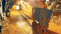 Ilustrasi tambang emas (iStock)