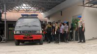Penyerahan jenazah Santoso menunggu hasil pemeriksaan DNA (Dio Pratama/Liputan6.com)