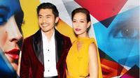Bintang Crazy Rich Asian Henry Golding dan istrinya Liv Lo (Instagram @henrygolding/Marion Curtis / Courtesy of Lionsgate)