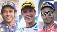 MotoGP - 3 Pembalap MotoGP 2021 yang Turun Status (Bola.com/Adreanus Titus)