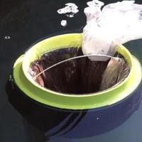 Sampah lautan terhisap karena ember 'ajaib' ini.