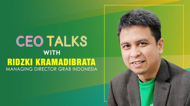 Ridzki Kramadibrata membagi beberapa kunci suksesnya dalam memimpin Grab Indonesia.