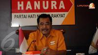 Partai Hanura menilai telah terjadi krisis kepercayaan masyarakat terhadap proses penegakan hukum di Indonesia selama 2013 urai Sarifuddin Sudding (Ketua Fraksi Partai Hanura). (Liputan6.com/Helmi Fithriansyah)