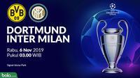 Liga Champions - Borussia Dortmund Vs Inter Milan (Bola.com/Adreanus Titus)