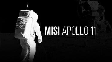 Pada 20 Juli 1969, tiga manusia telah mendaratkan kakinya di Bulan. Para astronaut itu adalah Neil Armstrong, Edwin Aldrin, dan Michael Collins.