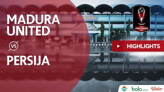Berita video highlights Piala Presiden 2019 antara Madura United menghadapi Persija Jakarta  yang berakhir dengan skor 2-2.