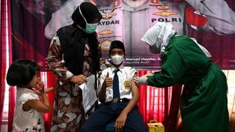 Bertambah, 45,8 Juta Warga Indonesia Sudah Divaksinasi Dosis Lengkap