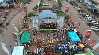 KPP Pratama Padang Sidempuan ingatkan kewajiban SPT Tahunan Pajak Penghasilan melalui Spectaxculer 2019 (3/3/2019). (Dok KKP Pratama Padang)