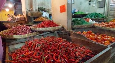 Ilustrasi pangan di pasar