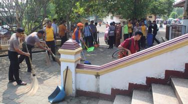 Cegah Penyebaran Virus Corona di Banten, Ini Dilakukan Polri hingga BPBD