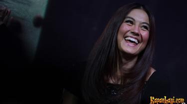 Agnez Mo saat menghadiri launching produk yang dibintanginya pada tahun 2014 (KapanLagi/Agus)