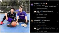 Kebersamaan Alvin Faiz, Okin, dan Zikri Daulay. (Sumber: Instagram.com/zikirdaulay1 dan Twitter/ @bumbukuning)