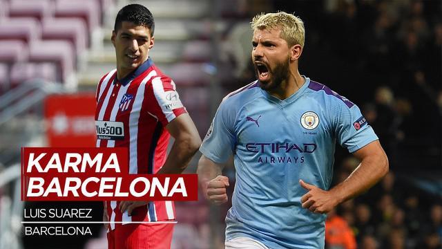 Berita Video Datangkan Sergio Aguero, Barcelona Kena Karma Luis Suarez?