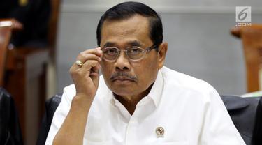 Bahas Anggaran Menkumham dan Jakasa Agung Rapat Dengan Komisi III DPR