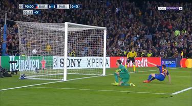Barcelona melenggang berkat kemenangan 6-1 di leg kedua, Kamis (9/3/2017) dini hari WIB.