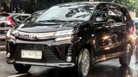 Toyota Avanza model 2019 berkeliaran di jalanan sebelum resmi diluncurkan. (Instagram @nanugs)