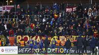 Berkat hasil ini, AS Roma menduduki posisi kedua klasemen Grup C dengan poin 6. (Mats Torbergsen/NTB Scanpix via AP)