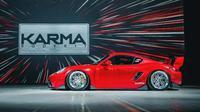 Porsche Cayman dengan balutan body kit garapan Karma Bodykit. (ist)