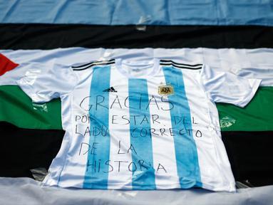 Messi Cs Tolak Main di Yerusalem Lawan Israel, Warga Palestina Berterima kasih