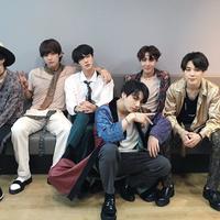 """Satu hal yang membuat kami sangat berterima kasih adalah ketika beliau menyebutkan para penggemar kita, ARMY,"" kata RM. (Foto: Soompi.com)"