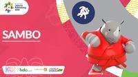 Logo Cabang Baru Asian Games 2018_Sambo (Bola.com/Adreanus Titus)