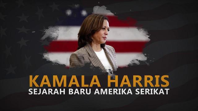 Kamala Harris merupakan orang pertama keturunan Asia Selatan yang berhasil melenggang ke Gedung Putih sebagai wakil presiden.