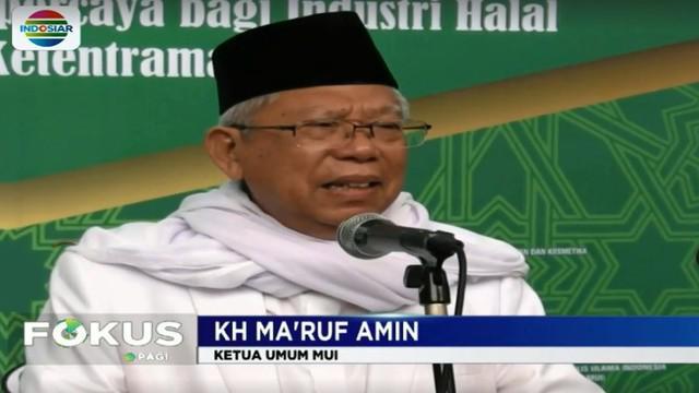 KH Maaruf Amin juga membenarkan pidato kapolri tersebut disampaikan Jendral Polisi Tito Karnavian di pesantren miliknya di Banten