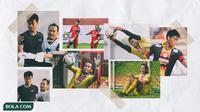 Adik Kakak Kiper Arema - Ahmad Kurniawan dan Kurnia Meiga (Bola.com/Adreanus Titus/Foto: Iwan Setiawan)