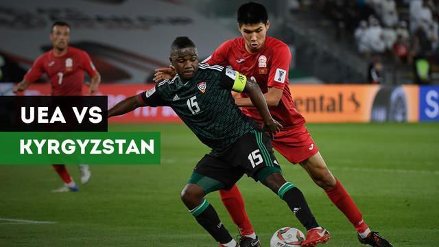 Berita video highlights babak 16 besar Piala Asia antara Uni Emirat Arab menghadapi Kyrgyzstan yang berakhir dengan skor 3-2.
