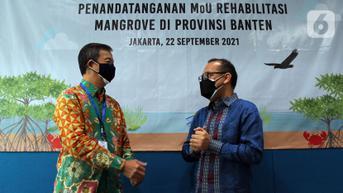 FOTO: Kesepakatan Rehabilitasi Hutan Mangrove