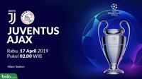 Liga Champions - Juventus Vs Ajax (Bola.com/Adreanus Titus)