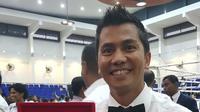 Wasit Tinju asal Indonesia, Boy Pohan yang akan bertugas di Olimpiade Tokyo 2020 (Istimewa)