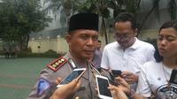 Direktur Lalu Lintas Polda Metro Jaya Kombes Halim Pagarra. (Liputan6.com/Nafiysul Qodar)