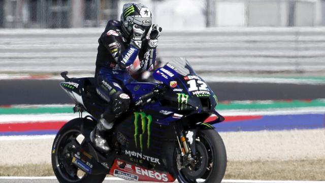 FOTO: Maverick Vinales Juara MotoGP Emilia Romagna 2020