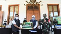 RSUD Dr Soetomo dapat bantuan dari KASAD TNI (Foto: Dok Istimewa)